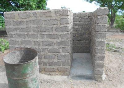Construction de latrines familiales